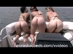 Spring Break Naked Boat Ride Part 1