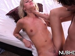 Dink hungry sultry barely legal blonde Jessa Rhodes