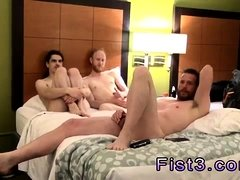 Teen boys with hairy cocks gay hanging out in a hotel