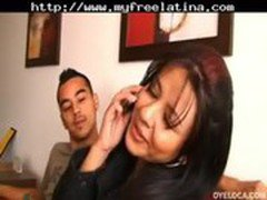 Horny Latina Gets Her Pussy Fingered And Fucked latina cumshots latin swallow brazilian mexican span