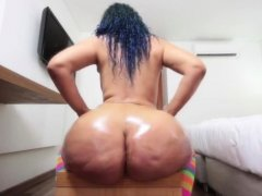 Girl who likes to masturbate is fucked rough in the ass