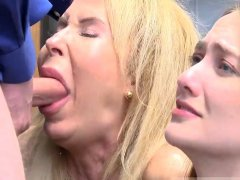 Blonde milf fucked in office While argument occurred,