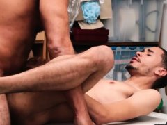 Cop gay porn movie xxx he was whipped out without
