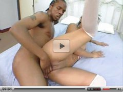 Hot Young Chick Gets Creampied by BBC.elN