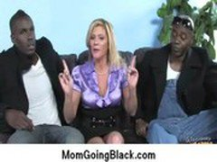 Amazing interracial sex Black cock and Horny MILF 6