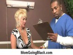 Amazing interracial sex Black cock and Horny MILF 2