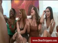 Cfnm ladies cant get enough of stripper cocks