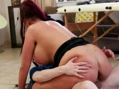 Milf only wants anal Big Tit Step-Mom Gets a Massage