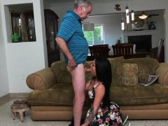 Sugar daddy cums inside me first time Frannkie's a swift