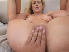 Hot shower fuck milf blonde and like mom Cherie Deville