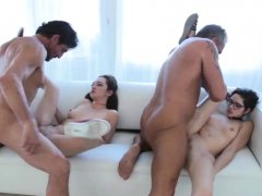 Mom caught with compeer's daughters bf and daddy creampie