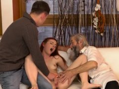 Old couple having sex and man bi Unexpected experience