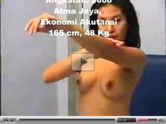 Stripped in Job Interview - Helen Atma Jaya- Casting Iklan Sabun