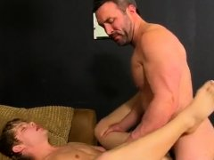 Russian anal gay porn When the muscled dude catches