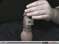 Jerking off my small cox cock penis nice cum shot so fun
