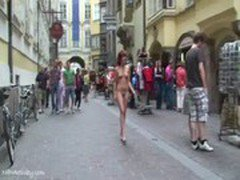 Spectacular Public Nudity With Horny Redheads