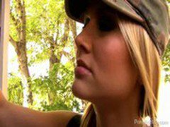 Army Girl Alanah Rae Gets A Farwell Fuck From Kelly Madison