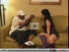 Housewife Gives Hummer to Big Chocolate Schlong Fella. Watch Read Rate Comment!
