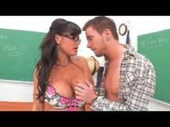 milfsonly.blogspot.com-Busty Mature Teacher Seduce Her Student