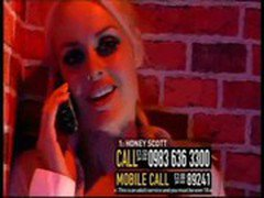Honey Scott UK TV phone sex babe TVX Part 2