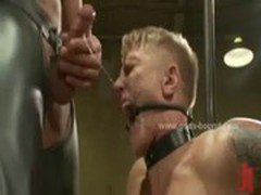 Delicious gay asses in rough fetish bdsm sex with dirty sadomaso masters