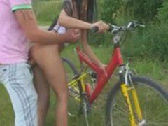Xtreme sweety Fuck On Bike