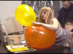 Office Balloon Sex