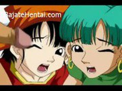 Dragon Ball Z Hentai . Bulma y Pan Follando