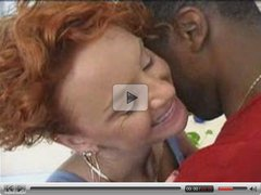 Mature redhead loves black cock