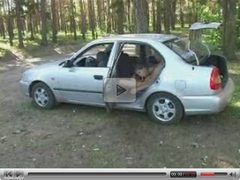 russian teen fucked at car - csm