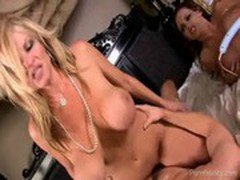 Jenna Presley Gets Cock And A Strapon From Kelly Madison