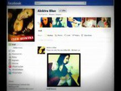 Alektra Blue (Porn Star) Official Facebook Fan Page - YouTube