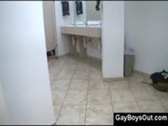 public gay blowjob on toilet