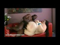 Super Sized BBW Desiree Devine Fucks Big Black Cock