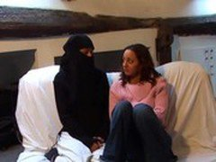 Virgin arab girl trying lesbian sex  DARKSOCCER
