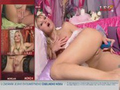 Sexy czech Telephone/TV sex showgirl