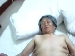 Chinese granny threesome