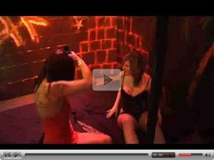 German Girls Gangbang in club basement