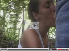 Outdoor Gangbang for Leona
