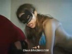2011-11-16 Masked Skinny Girl Tries To Escape Dick In Ass