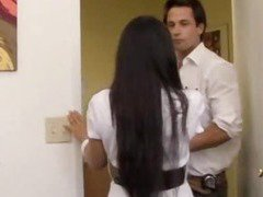 Jessica Bangkok getting fucked in an office