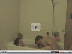Hot Teens Fucking in Bath