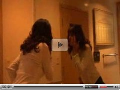 Mature Woman seduces skinny Young Girl...F70