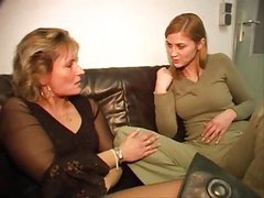 Mother and not her daughter - Mutter und nicht die Tochter