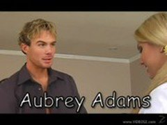 Aubrey Adams is left exhausted after riding her tiny teen...   PornTube.com