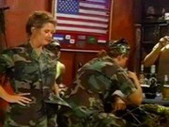 U.S. soldiers fucking beautiful stripper