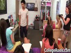 Horny College Teens Rate University Cocks