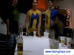 College guys get horny from playing beerpong
