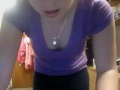 Real Amateur Teen on a Webcam