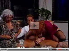 3 Old Ladies Enjoy A Mean Dick